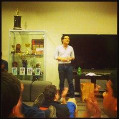 Photo taken at GSB MBA Lounge by Greg B. on 5/23/2013