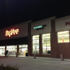 Photo taken at Hy-Vee by B.J. F. on 11/9/2012