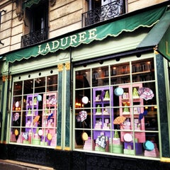 Photo taken at Ladurée by Isabelle S. on 1/12/2013