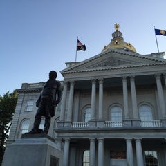 Photo taken at New Hampshire State House by Rosemary D. on 8/9/2015