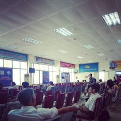 Photo taken at Vinh Airport (VII) Sân bay Vinh by Hoang S. on 10/5/2014