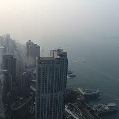Photo taken at Two ifc 國際金融中心二期 by Паша Д. on 2/22/2015