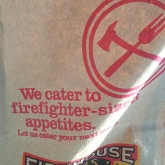 Photo taken at Firehouse Subs by AJ t. on 11/19/2013