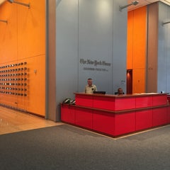 Photo taken at New York Times Building by Tim O. on 6/15/2015