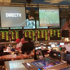 Photo taken at Bally's Sportsbook by Flores N. on 10/3/2015