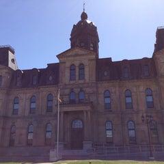 Photo taken at Provincial Legislative Building by Justin H. on 5/6/2013