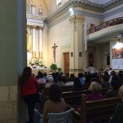 Photo taken at Parroquia de San Vicente Ferrer by Daniel G. on 4/5/2015