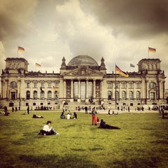 Photo taken at Reichstag by rsmike ☯. on 5/30/2013