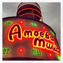Photo taken at Amoeba Music by Trent V. on 4/15/2013