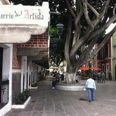 Photo taken at Barrio del Artista by Isaac B. on 6/19/2013
