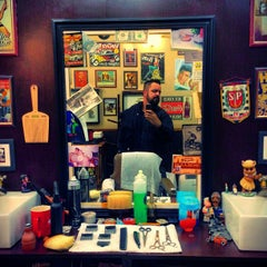 Photo taken at Barbearia 9 de Julho by Marcelo A. on 5/27/2013
