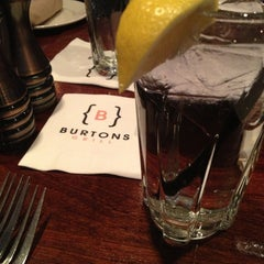 Photo taken at Burtons Grill by Nichole M. on 1/23/2013