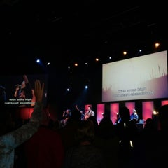 Photo taken at Heartland Community Church by Marcia D. on 10/12/2014