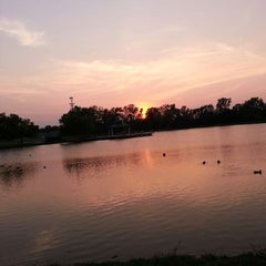 Photo taken at Delco Park by Heather B. on 9/8/2013