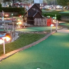 Photo taken at Udders and Putters Mini Golf Course by Heather B. on 5/4/2015