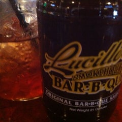 Photo taken at Lucille's Smokehouse Bar-B-Que by Michael R. on 12/2/2012