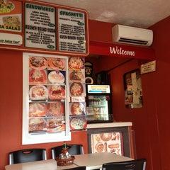 Photo taken at Amina Pizzeria by Arief Mulya R. on 9/29/2013