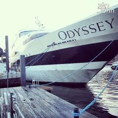 Photo taken at Odyssey Cruises by John L. on 7/29/2013