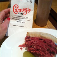 Photo taken at Carnegie Deli by Michelle C. on 12/11/2012