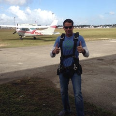 Photo taken at Miami Skydiving Center by Thomas L. on 2/1/2014