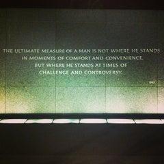 Photo taken at Martin Luther King, Jr. Memorial by Derek V. on 5/27/2013
