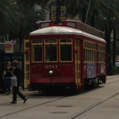 Photo taken at St. Charles Avenue Streetcar by Steve on 3/23/2013