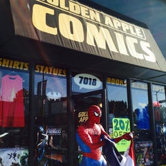 Photo taken at Golden Apple Comics by Ray L. on 5/3/2015