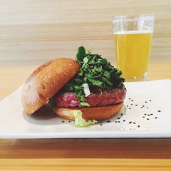 Photo taken at Umami Burger by Martin M. on 5/19/2015