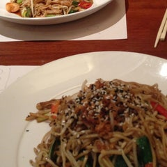 Photo taken at Wagamama by Jane B. on 1/12/2013