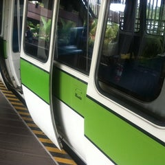 Photo taken at Monorail Green by Stephen G. on 11/19/2012