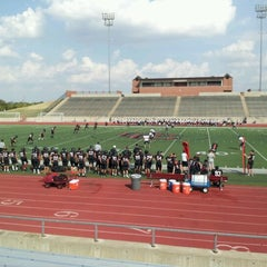 Photo taken at Buddy Echols Field by Ron S. on 9/27/2012