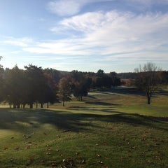 Photo taken at Ould Newbury Golf Course by Sean S. on 10/26/2013