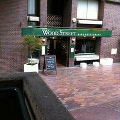 Photo taken at Wood Street Bar & Restaurant by Olivier O. on 6/21/2013
