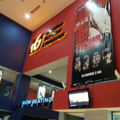 Photo taken at Golden Screen Cinemas (GSC) by Shaiful A. on 1/9/2013