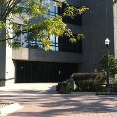 Photo taken at Carrier Library by Andrew M. on 9/22/2012