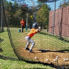 Photo taken at Odell Sports--Baseball Fields by Nicole L. on 10/25/2014