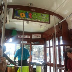 Photo taken at St. Charles Streetcar by Kim R. on 9/22/2013