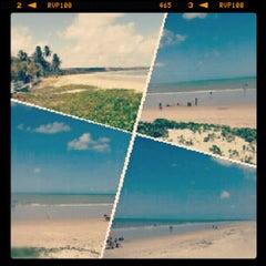 Photo taken at Praia Azul by Leandro J. on 11/15/2012