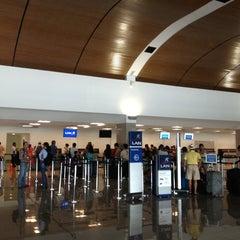Photo taken at Aeropuerto Internacional Rafael Nuñez (CTG) by Jimmy V. on 3/4/2013