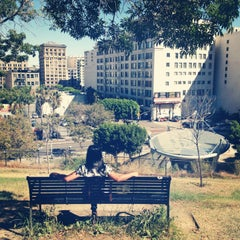 Photo taken at Tom Hansen's Bench (500 Days of Summer) by Jessica E. on 7/17/2013