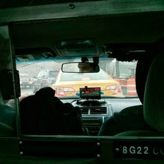 Photo taken at NYC Taxi Cab by Julian W. on 4/10/2015