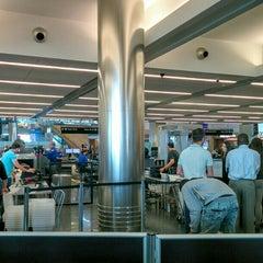 Photo taken at TSA Security by Julian W. on 8/9/2015