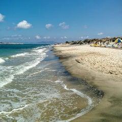 Photo taken at Παραλία Μαρμαρίου (Marmari Beach) by Julian W. on 9/29/2015