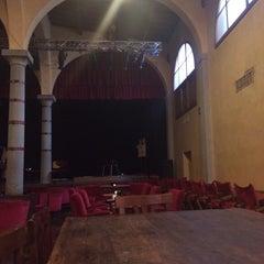 Photo taken at Il Teatro del Sale by Nicoletta B. on 12/31/2013
