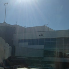 Photo taken at Gate A31 by Jeff S. on 10/22/2012