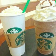Photo taken at Starbucks (สตาร์บัคส์) by Natnicha U. on 8/12/2015