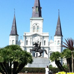 Photo taken at St. Louis Cathedral by Henry N. on 10/10/2012