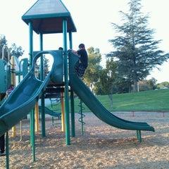 Photo taken at Los Paseos Park by Viktoria D. on 9/28/2012