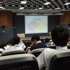 Photo taken at คณะการสื่อสารมวลชน (Faculty of Mass Communication) by Yada E. on 11/17/2015