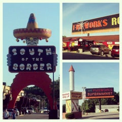 Photo taken at South of the Border by Monique M. on 5/26/2013